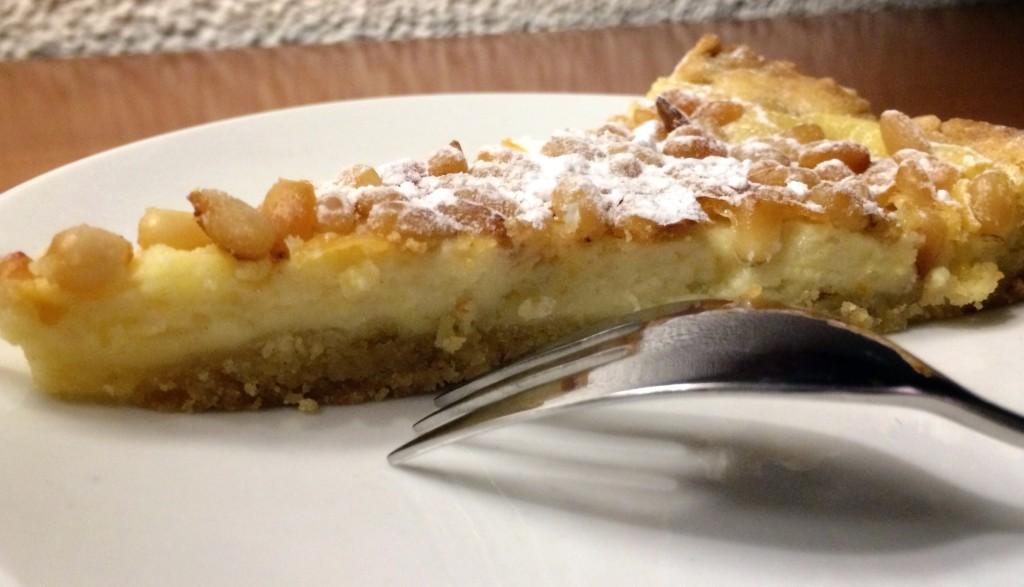 torta crema pinoli